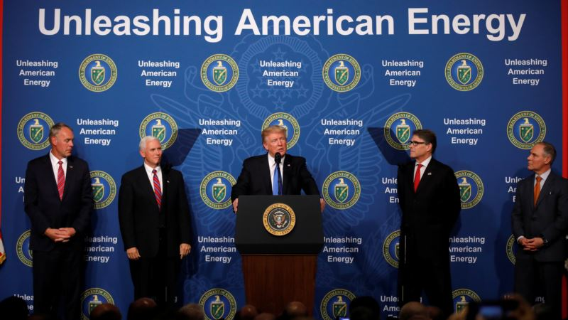 Trump Launches 'Dominant' Energy Policy Focused on Exports