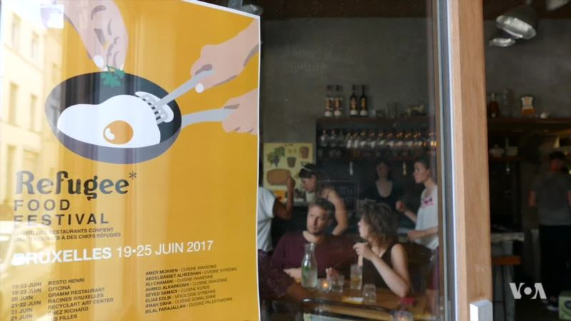 Refugee Cooks Take Over European Kitchens