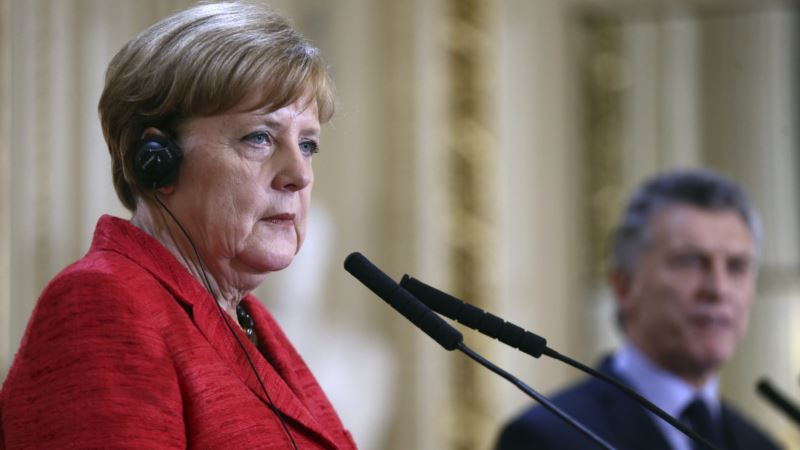 Germany's Merkel: EU Must Compromise to Get Trade Deal with Mercosur