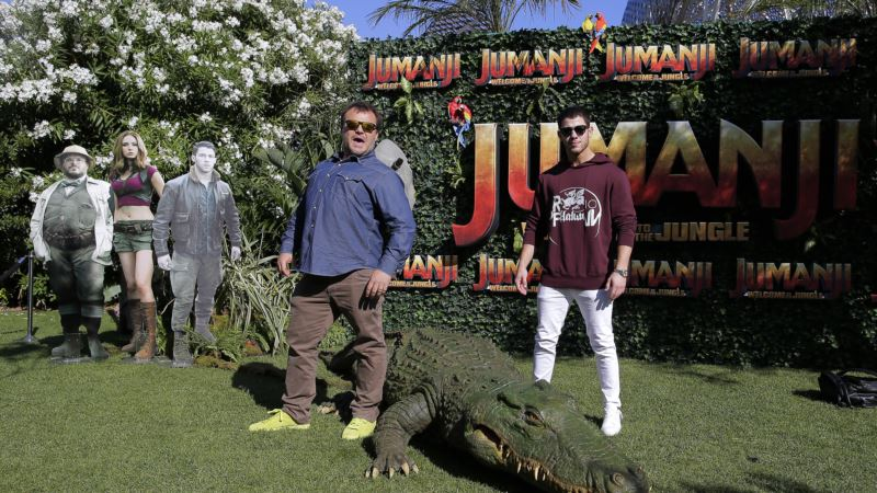 Jack Black Leads Star-studded Cast for 'Jumanji' Reboot