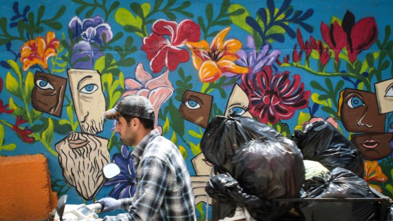 Entrepreneur Turns Beirut Slum Into Vast Canvas
