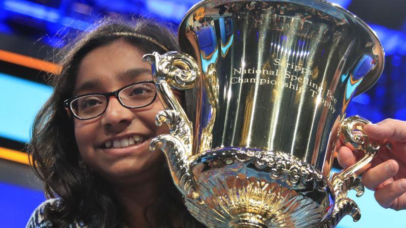 California 12-Year-Old Wins US Spelling Bee Crown