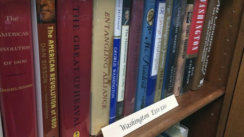 University Collection of More Than 2,700 Books Spans US Presidency