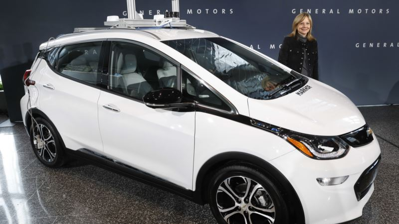 GM Says It Has Made 130 Self-driving Bolts