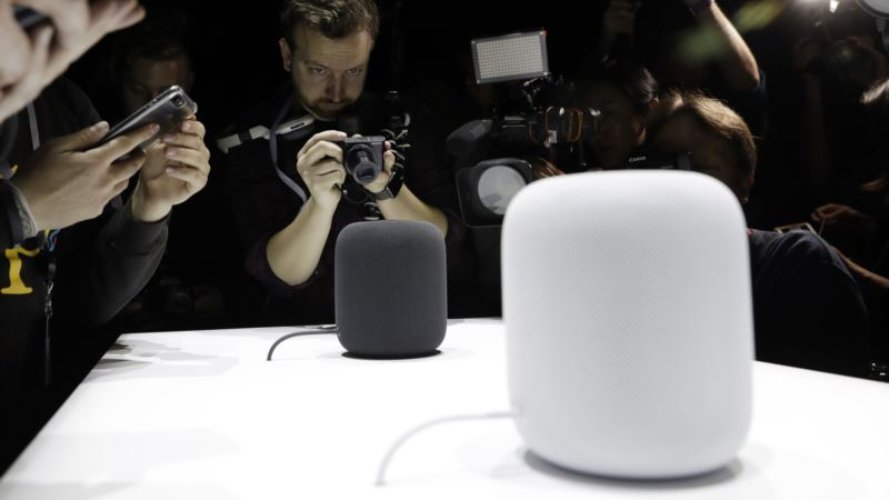 Apple Unveils 'HomePod' Speaker, First New Product in Years