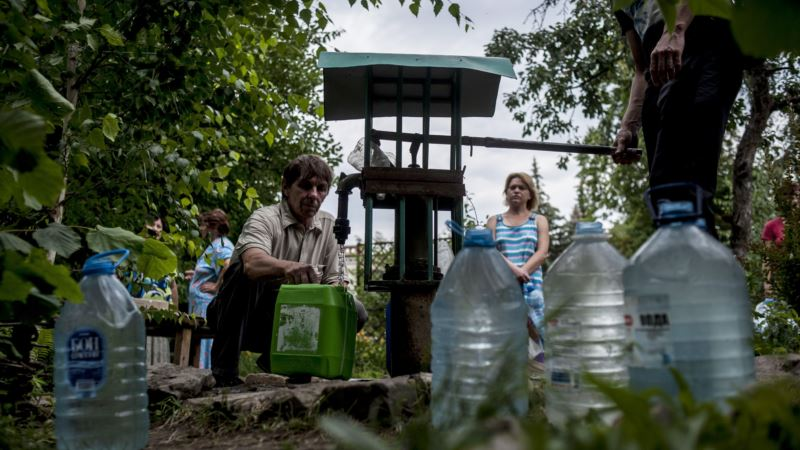 Children at Risk of Disease in Eastern Ukraine as Fighting Threatens Safe Water Supply