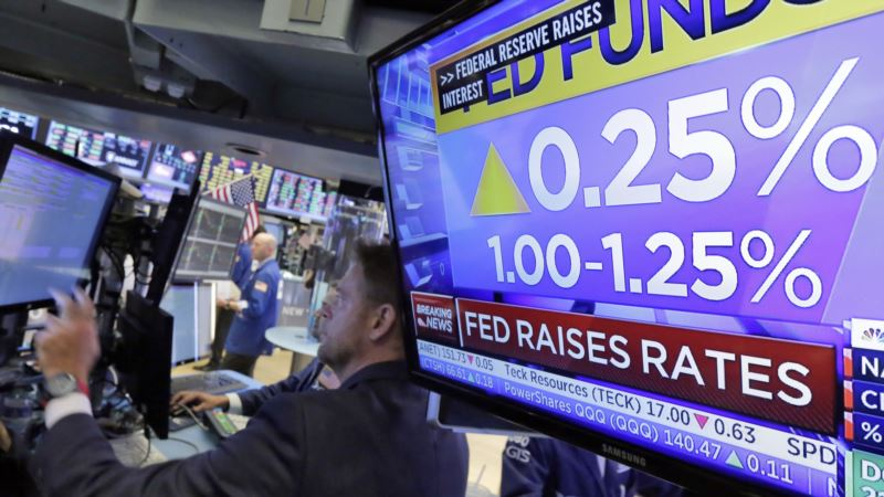 Federal Reserve Raises Interest Rate Slightly
