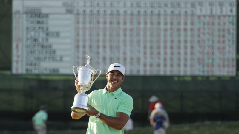 Little-known Koepka Wins US Open Golf Championship