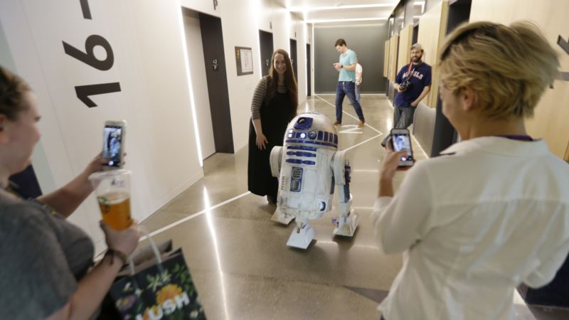 R2-D2, Lightsaber: Force Is Strong in Star Wars Auction