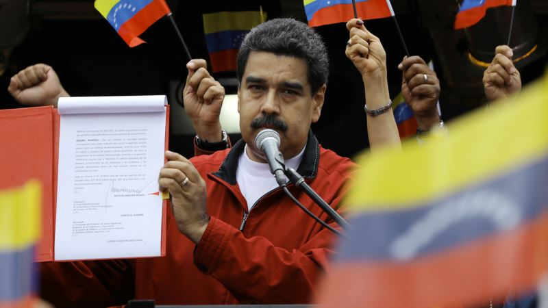 White House Looks at Sanctions on Venezuela's Oil Sector
