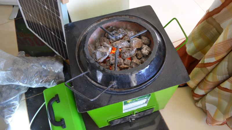 Volcanic Rock Stoves Cook Food – and Protect Forests – in Uganda