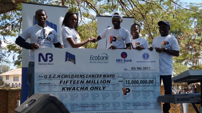 Gospel Artist Fundraises for Malawi's Only Children Cancer Ward