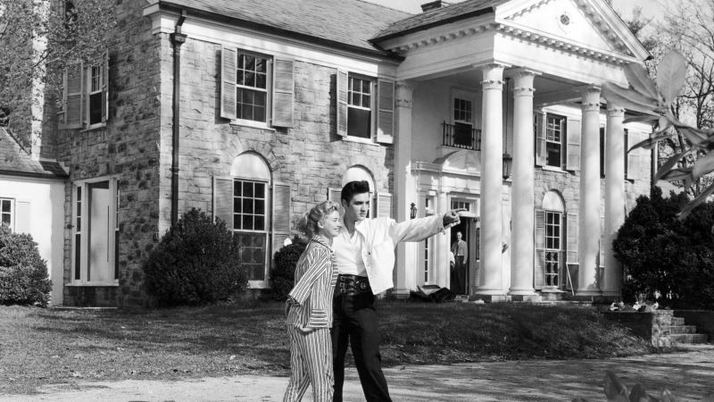 Elvis Presley's Graceland Estate Opened to Public on This Day in '82