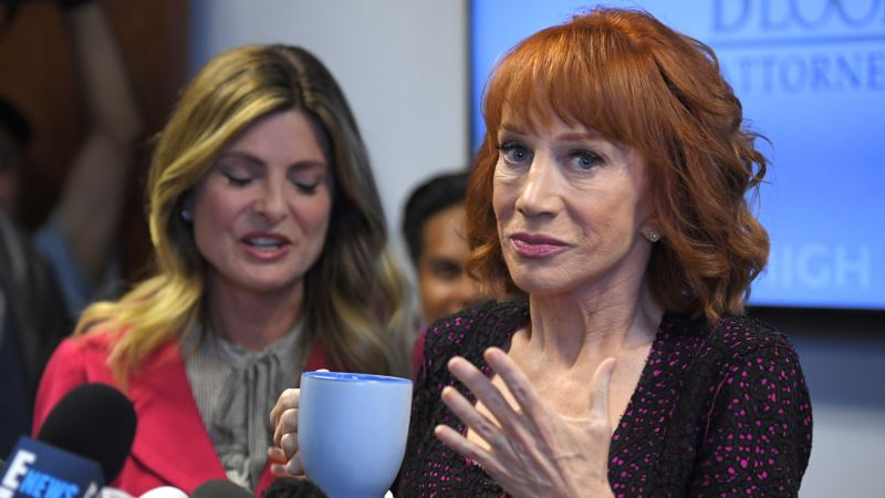 Kathy Griffin Responds in Trump Decapitation Photo Controversy