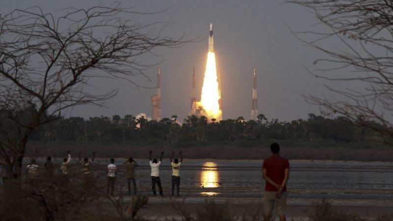 India Launches Heavy Lift Rocket