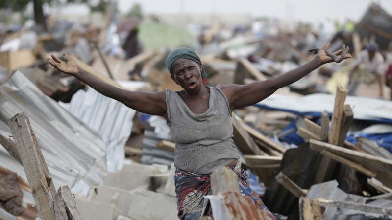 Hard Times for Lagos Slum Dwellers Caught in Race for Land