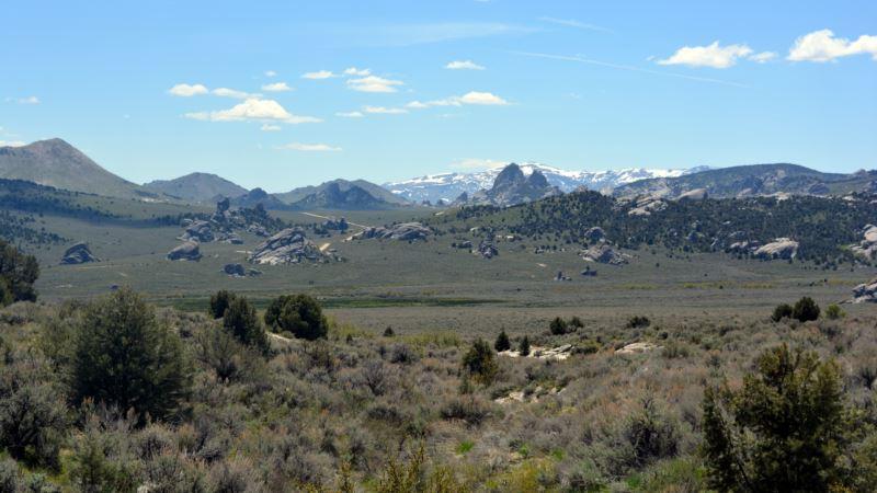 Silent City of Rocks Towers Over Idaho