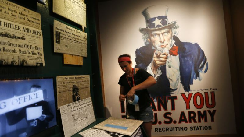 New National WWII Museum Exhibit Looks at Fight on Homefront