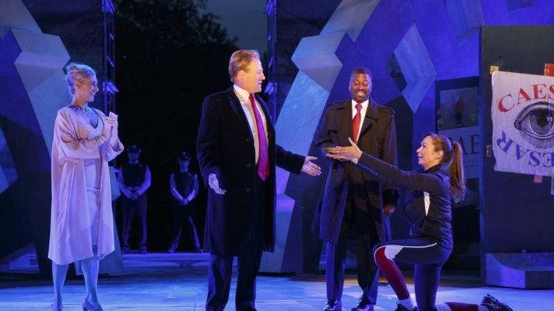 2 Corporate Sponsors Pull Support From Trump-Like 'Julius Caesar'