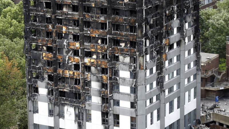 US Firm Stops Selling Cladding Used in Grenfell Tower