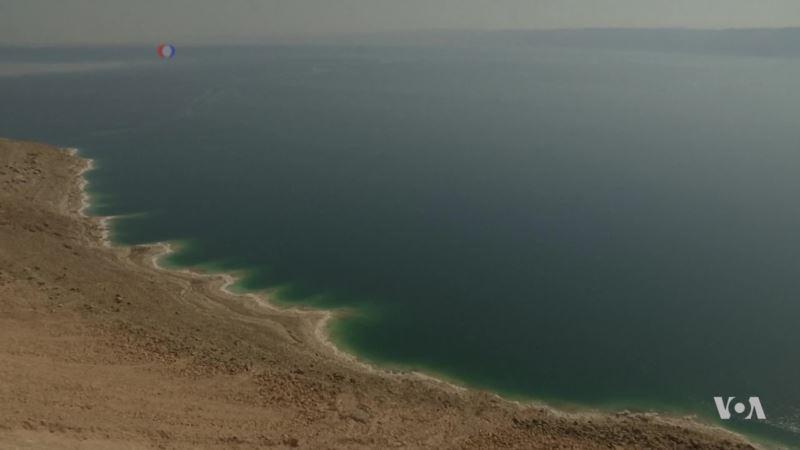 Dead Sea Shrinkage Predicts Future Mega Drought