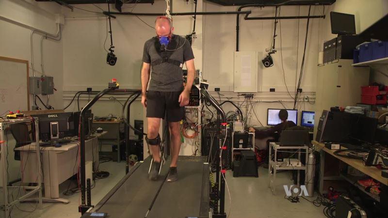 Smart Exoskeleton Adapts to Individual Users