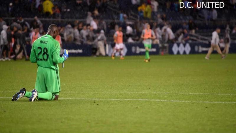 DC United's Star Goalie a Muslim Who Balances Faith with Football