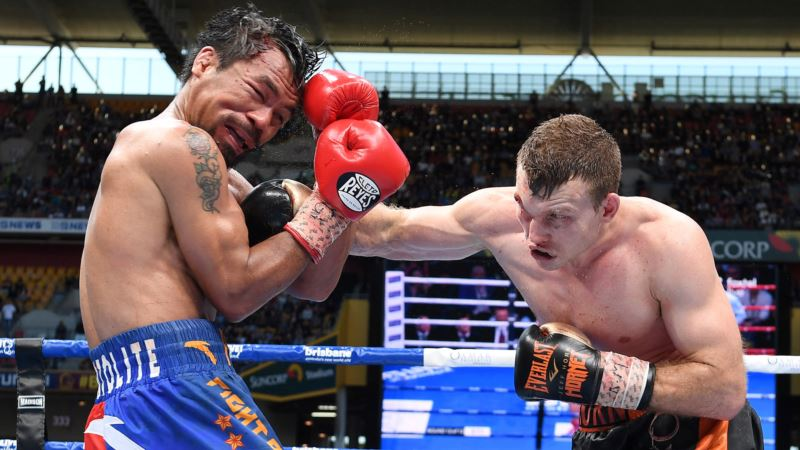 Pacquiao Loses World Title to Horn in Brisbane