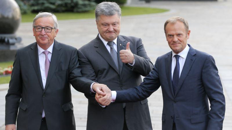 Corruption Undermining Ukraine's Progress, EU's Juncker Says