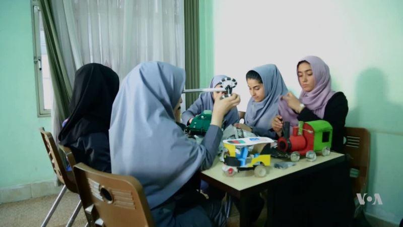 Afghan Girls Robotic Team Not Deterred Despite US Visa Denial