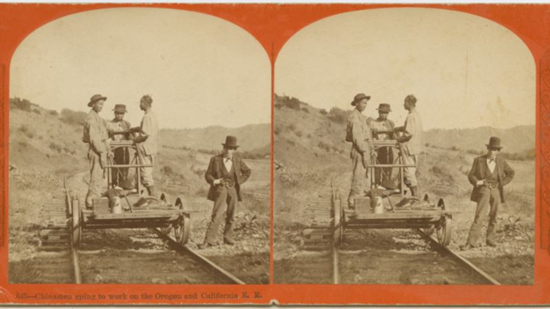 Historians Still Uncovering Details of 150-Year-Old Chinese Railroad Strike