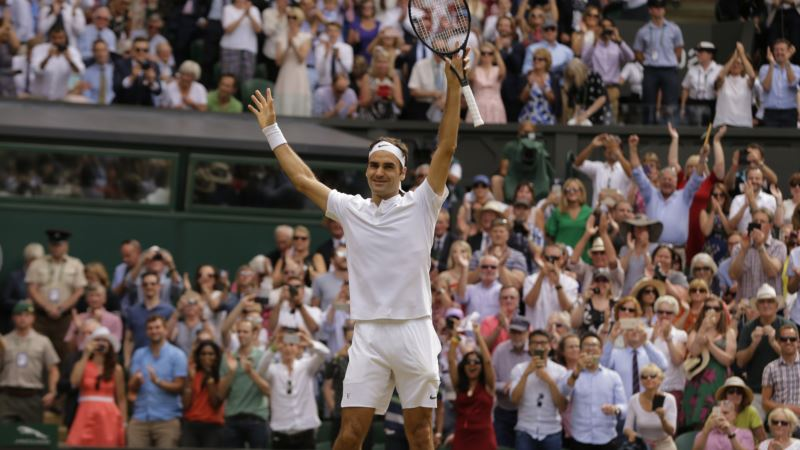 Federer Wins Record 8th Wimbledon Title
