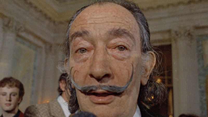 Body of Surrealist Painter Dali Exhumed for Paternity Test