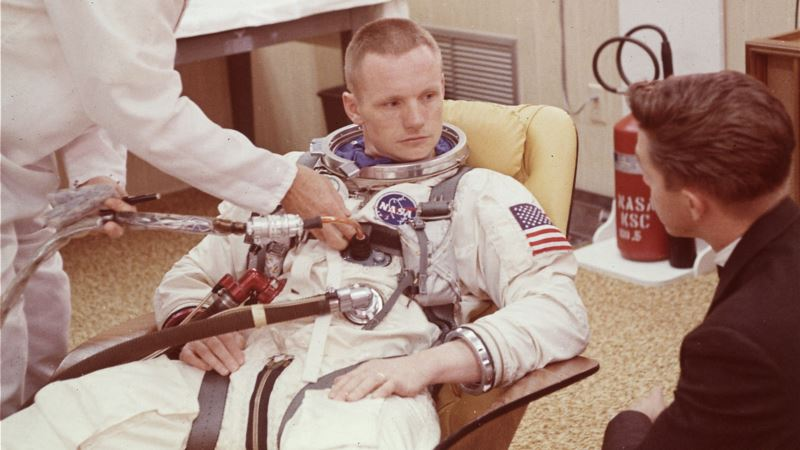 This Day in History: US Astronaut Neil Armstrong Walks on the Moon in 1969