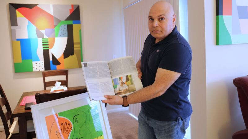 In Houston, Former Refugees are Transformed Through Their Art
