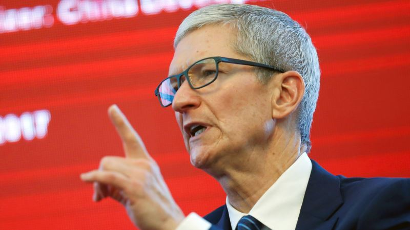 Apple CEO Promised to Build 3 'Big' Plants in US, Trump Tells WSJ