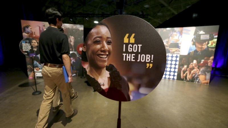 US Economy Gains 222,000 Job; Unemployment Rate Rises Slightly