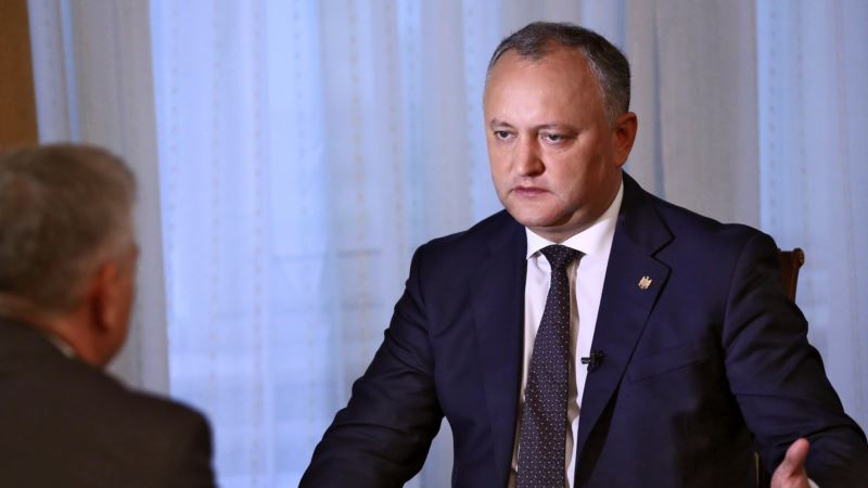 Moldova President Sees Move Towards Russia-led Trade Union in 2017