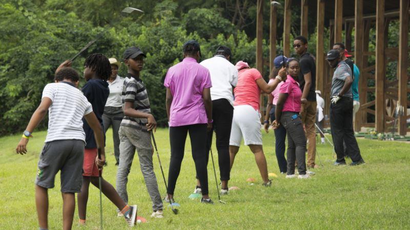 Nigeria's 'Queen of Golf' Mentors Next Generation of Potential Pros