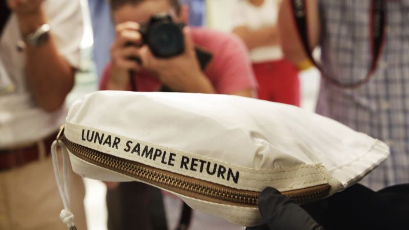 Moon Dust Collected by Neil Armstrong to be Auctioned in New York