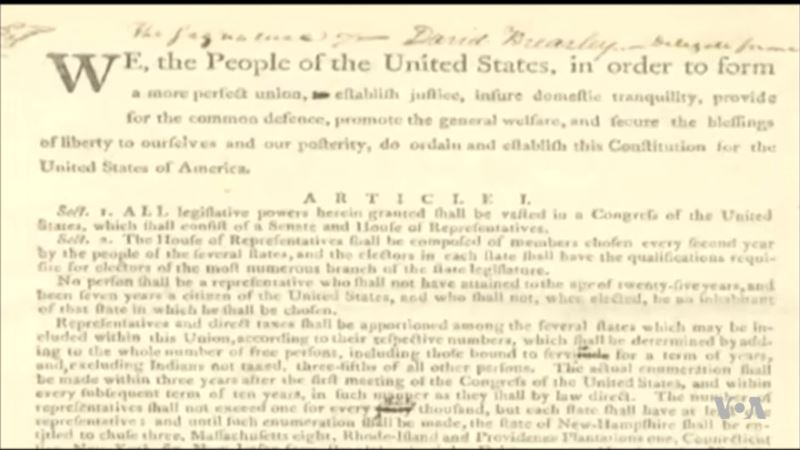 National Archives: 11,000 Failed Attempts to Change US Constitution