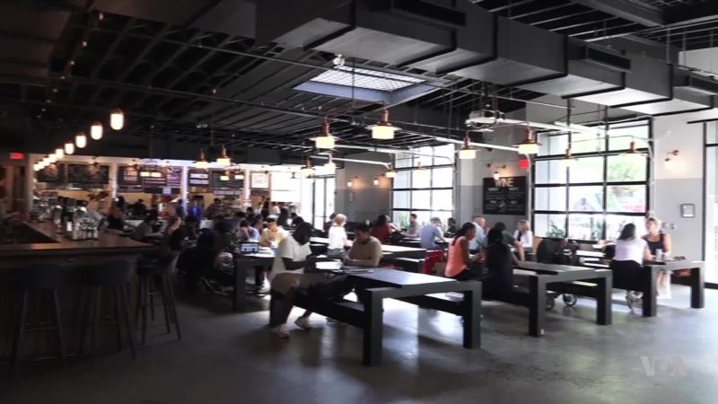 For Foodies and Locals, Restaurants Are Out, Food Halls Are In