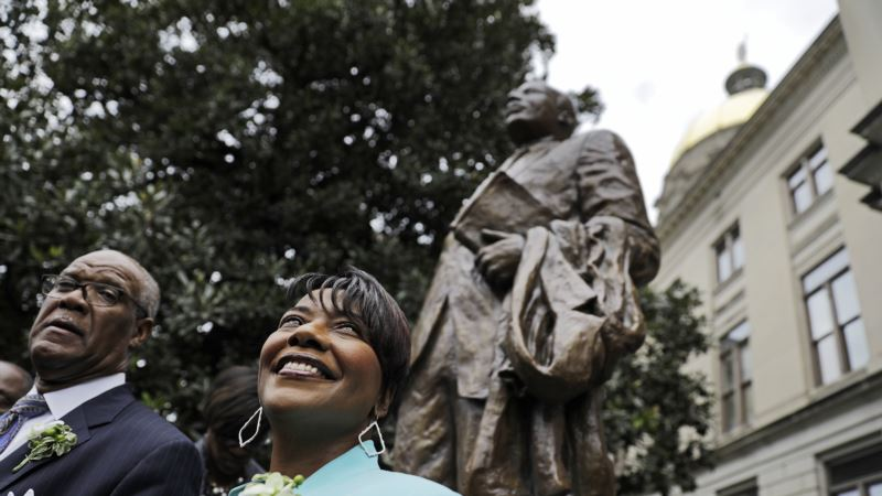 Statue of Martin Luther King Jr. Unveiled in his Hometown
