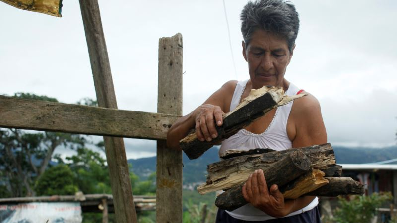 Cooking Gas Shortages Force Venezuelans to Turn to Firewood