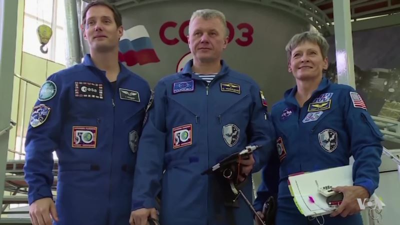 Record-setting NASA Astronaut Ready to Come Home