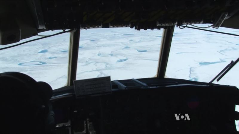 Greenland Ice Sheet Yielding Clues of Climate Change