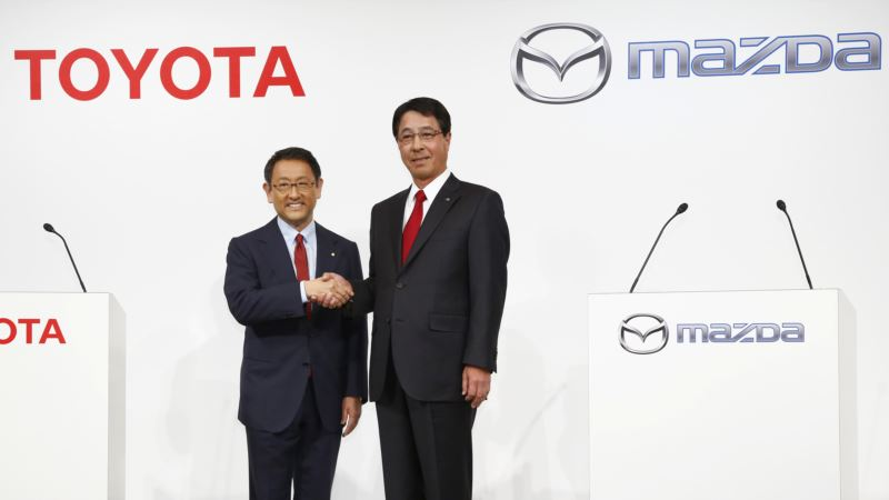 Toyota, Mazda to Build, Share New Plant in US