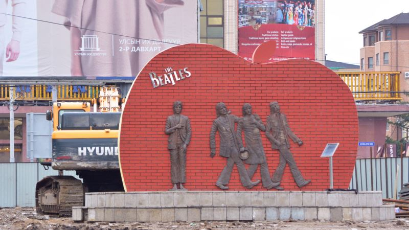 Let It Be, Mongolians say of Their Monument to The Beatles