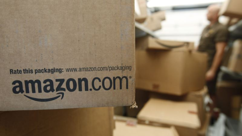 Trump Goes After Amazon, Again