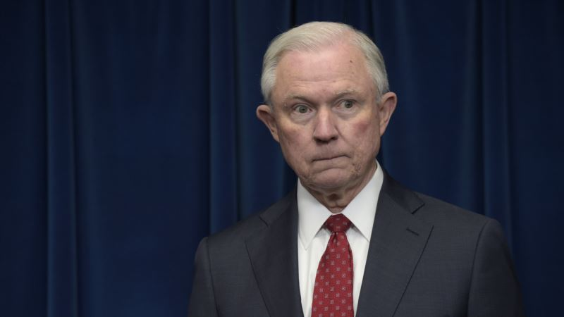 US Attorney General: Opioid Crisis Is America's 'Top Lethal Issue'
